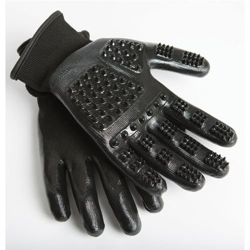HandsOn¨ Gloves Horse Dog Cat Livestock Small Pet Grooming Gloves Mitts & Bathing Gloves Mitts