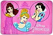 Tapete Orient Disney Retrato das Princesas Jolitex Rosa 70x110cm