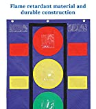 Carson Dellosa Stoplight Pocket Chart