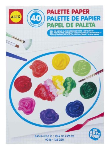 ALEX Toys Artist Studio Palette Paper Pad 40 Glossy Sheets by ALEX Toys