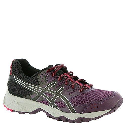 ASICS Womens Gel-Sonoma 3 Running Shoe, Winter Bloom/Black/Mid Grey, 6 Medium US