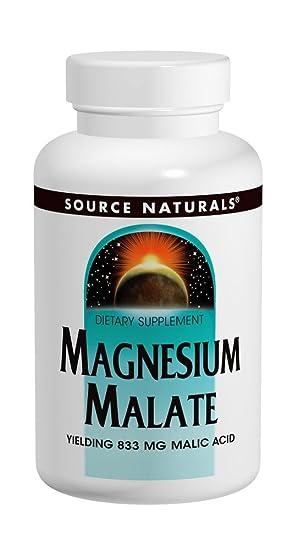 Source Naturals, Magnesio Malato - 1250mg x90tabs: Amazon.es ...