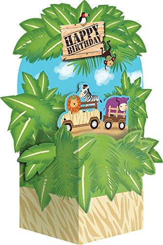 Creative Converting Safari Adventure - Centro de mesa 265520