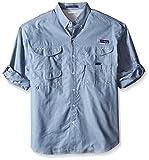 Columbia Sportswear Men's Super Bonehead Classic Long Sleeve Shirt (Big), Steel Oxford, 1X Review