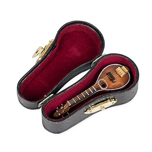 3 Inch Mandolin Miniature Replica with Case ()