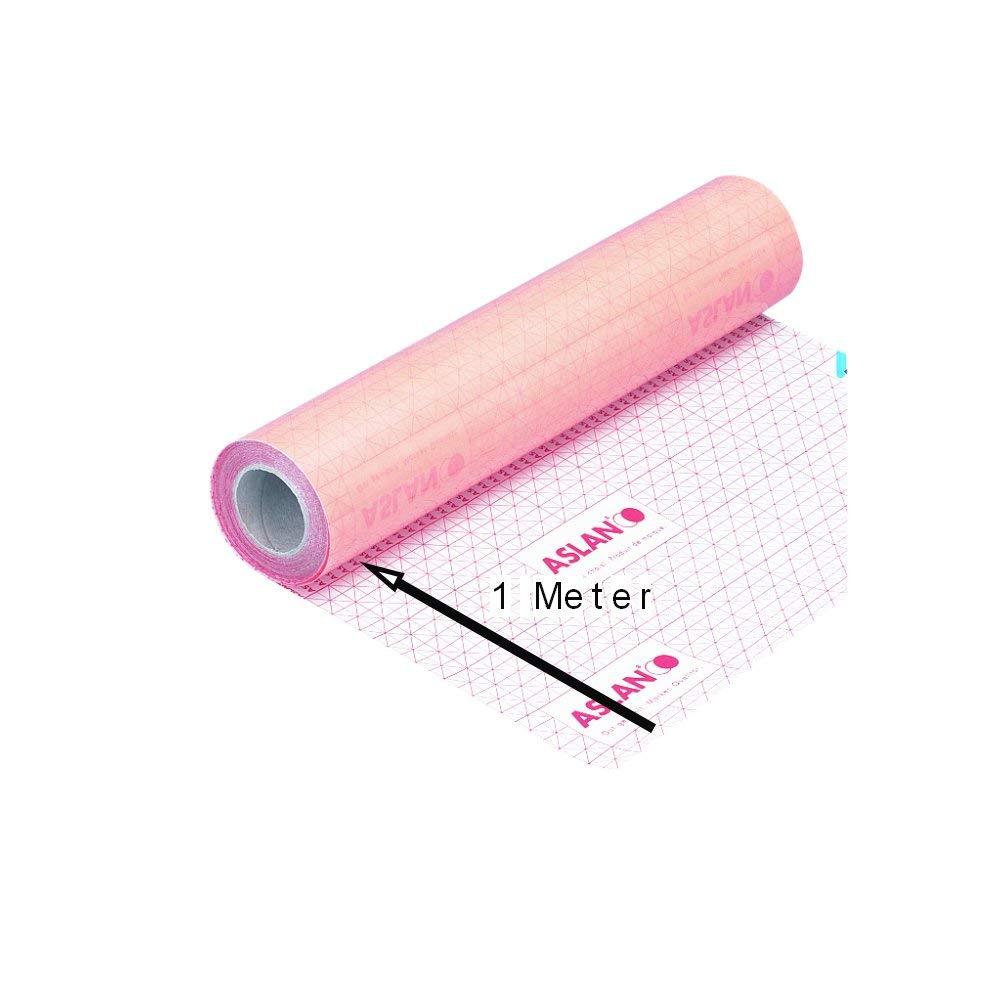 Doppelseitige Klebefolie Breite 45 cm 0,07 mm stark Meterware 1 Meter