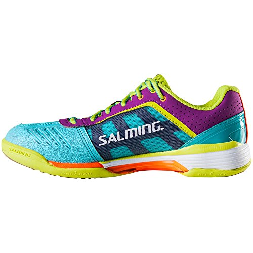 Salming Viper 3 Dames Pumps Blauw / Geel - 7 Us / 5 Vk