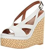 Aquatalia by Marvin K. Womens Carly Calf Wedge Sandal