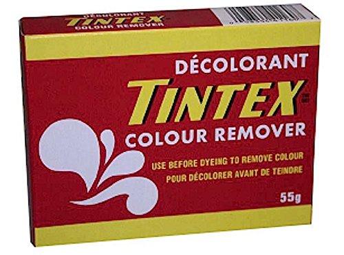 LOT OF 1 TINTEX BRAND COLOUR REMOVER - DECOLORANT NEW (Dye Color Remover)