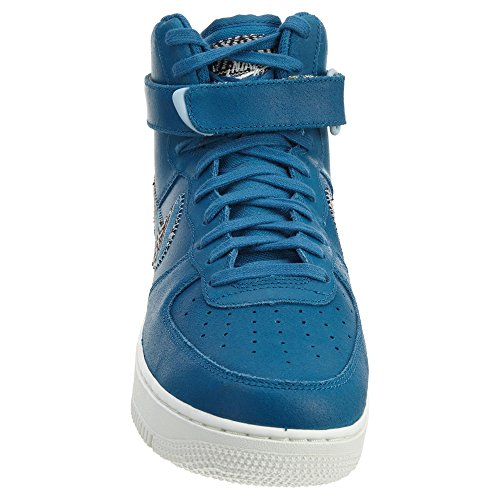 Nike Air Force 1 Hoch '07 Lv8 Mens Style: 806403 Industrielles Blau