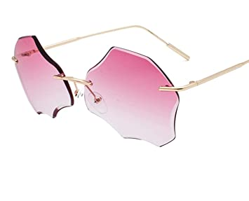 Jnday - Gafas de sol para mujer con marco de metal y ...
