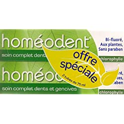 Boiron Homéodent Complande Care For Teandh And Gums 2X75Ml - Flavour: Chlorophyl
