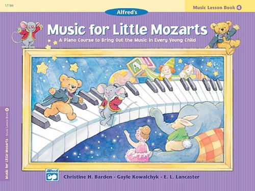 Music Lesson Book - Music for Little Mozarts: Music Lesson Book 4