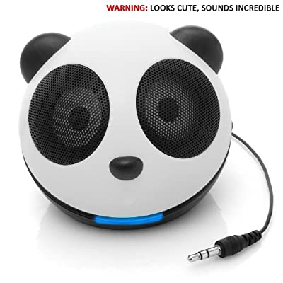 Gogroove Panda Pal Compact Portable Powerful Speaker