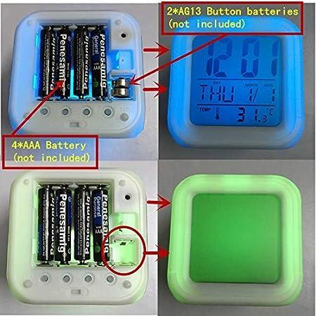 Amazon.com: Dora The Explorer LED Alarm Clock reloj despertador saat wekker Digital Clocks horloge Digitale Kids Plastic Watch Toys Gifts: Home Audio & ...