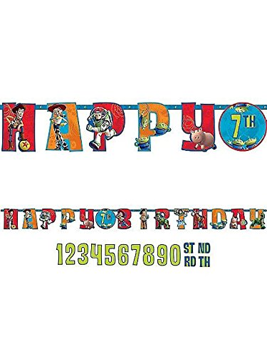 Amscan Toy Story Letter Banner 10 Ft.