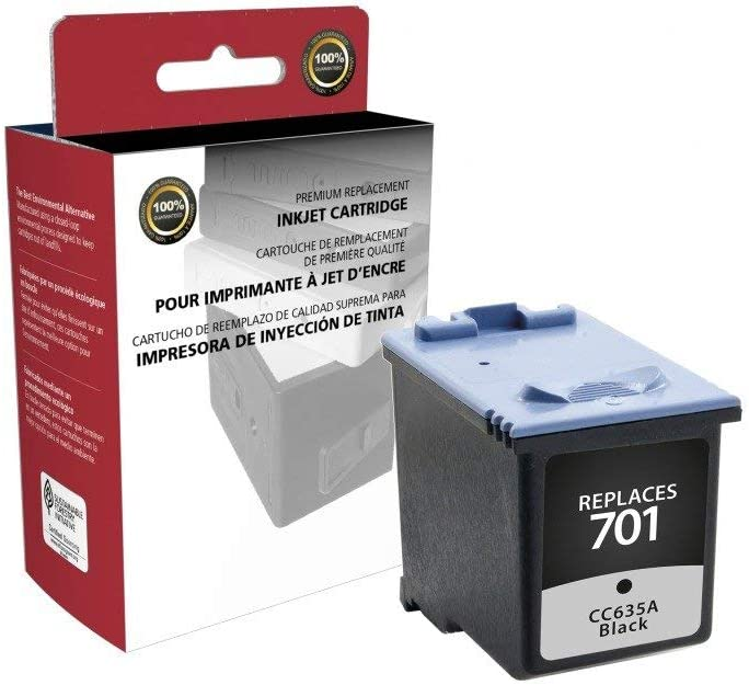 CIG Remanufactured Black Ink Cartridge (Alternative for HP CC635A, 701) (895 Yield)