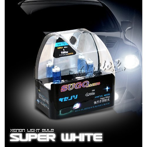 Sugo Racing H7 Light Bulbs Super White 1 Pair
