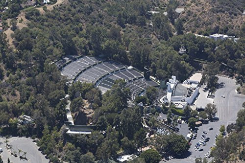 Los Angeles, CA Photo - The Hollywood Bowl, a modern amphitheater in the Hollywood area of Los Angeles, California - Carol ()