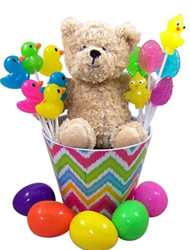 Plush-Teddy-Bear-Easter-Basket-with-Lollipops-and-Candy-Filled-Eggs