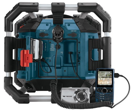 bosch pb360s 18 volt lithium ion power box jobsite radio. Black Bedroom Furniture Sets. Home Design Ideas