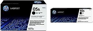 HP 05A | CE505A | Toner Cartridge | Black & 85A | CE285A | Toner Cartridge | Black