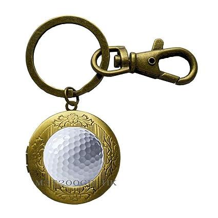 Llavero de camafeo de golf para golf o golfista, regalo de ...