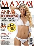Maxim Espanol November 2008 Anna Kournikova
