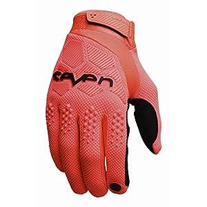 Seven Rival Flo Boys Dirt Bike Motorcycle Gloves - Orange / Large