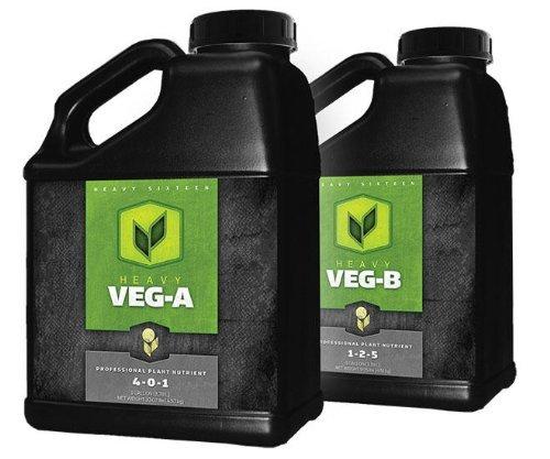 51sIRuN0YcL Heavy 16 Veg A & B Nutrients - 1L, 4L, or 10L Liter (1 Liter)