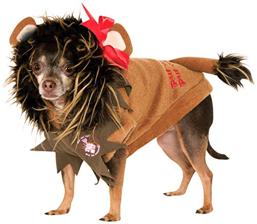 Wizard of Oz Pet Costume, X-Large, Cowardly Lion Hoodie