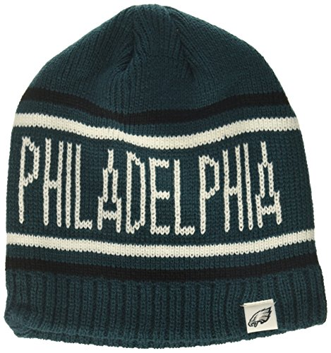 (NFL Philadelphia Eagles Thorsby OTS Beanie Knit Cap, Pacific Green, One Size)