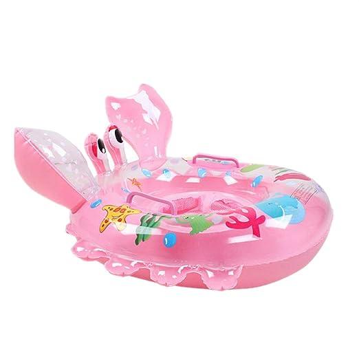 Anillo De Natación , Chickwin Cute Niños Infantil Hinchable De natación Anillo Flotador Asiento Barco Piscina Baño Aeguridad (Rosa): Amazon.es: Deportes y ...