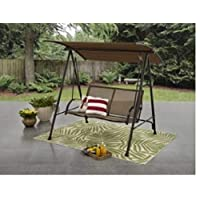 Deals on Mainstays Two Person Canopy Porch Swing