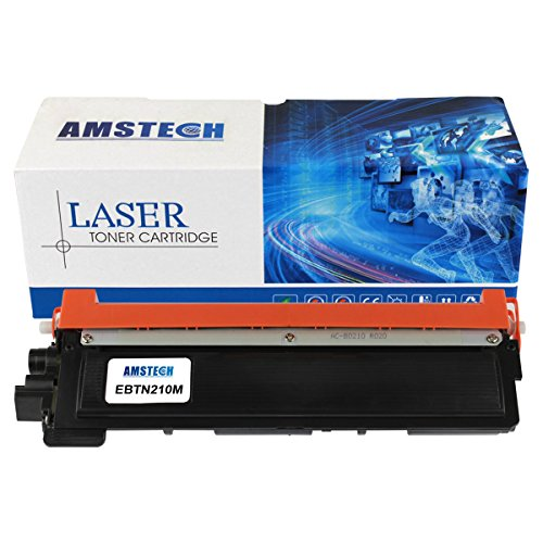 Amstech 1,400 Pages Compatible Magenta Toner Cartridge Replacement For Brother TN-210 TN210 For Printers Brother HL-3040CN HL-3070CW HL-3045CN HL-3075CW MFC-9010CN MFC-9320CW MFC-9125CN MFC-9325CW