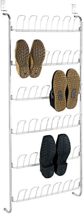 WENKO Door rack for 18 pairs of shoes