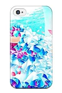 New Premium XxNSbag5380GoKMn Case Cover For Iphone 4/4s/ Brunettes Vocaloid Gloves Flowers Brown Kaito Vocaloid Shortanime Boys Closededding Dresses Meiko Protective Case Cover