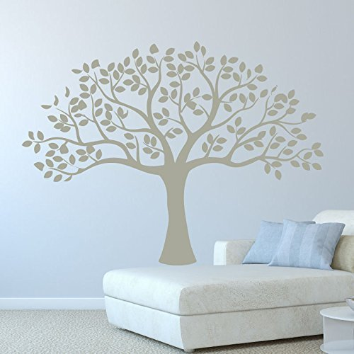 Tree Wall Decal Vinyl Decor Sticker - Use for Decorating Living Room or Bedroom at Home, Office, Nursery - Nature Scene Wall Art