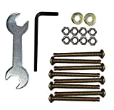 Kings Brand 42 PCS Set of Hardware For Bed