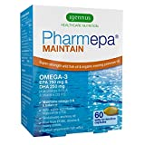 Pharmepa MAINTAIN EPA DHA Omega-3 Fish Oil & D3, 750/250 per serving, Odorless, 60 small softgels For Sale