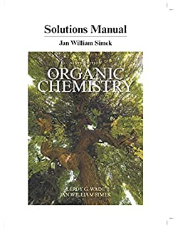 Amazon organic chemistry books a la carte edition 9th edition students solutions manual for organic chemistry fandeluxe Gallery
