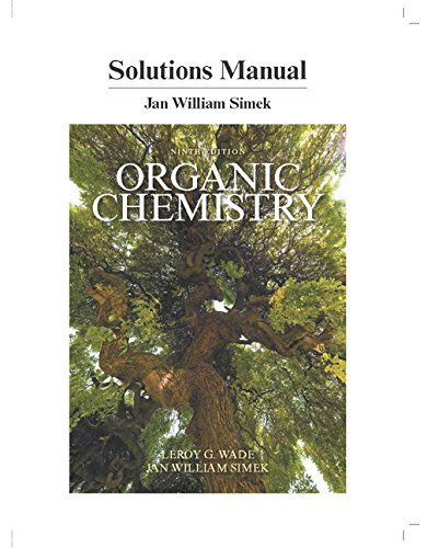 Top 7 organic chemistry solutions manual