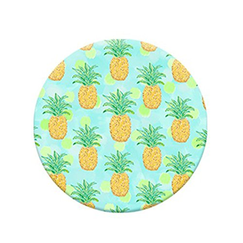 Expanding Multi Function Pop Grip Socket. Smartphone and Tablet Holder, Stand, Mount – Pineapple