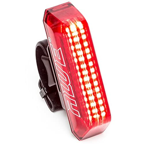 AWE® Awelarmtm 15x AWE LED de 80Décibels Alarme de vélo rechargeable USB éclairage arrière 30lumens extrêmement lumineux