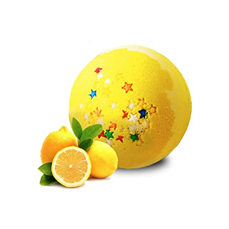 CQ Bombas De Baño Aroma De Limón Sal De Explosión Bola De Baño Burbuja Bola De Aceite Esencial: Amazon.es: Deportes y aire libre