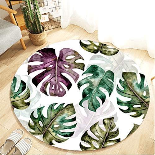 [해외]Muicook Rugs for Bathroom FloorBotany Elements Blanket Round Bathroom Carpet 55Cm(A40X60cm) / Muicook Rugs for Bathroom FloorBotany Elements Blanket Round Bathroom Carpet 55Cm(A40X60cm)