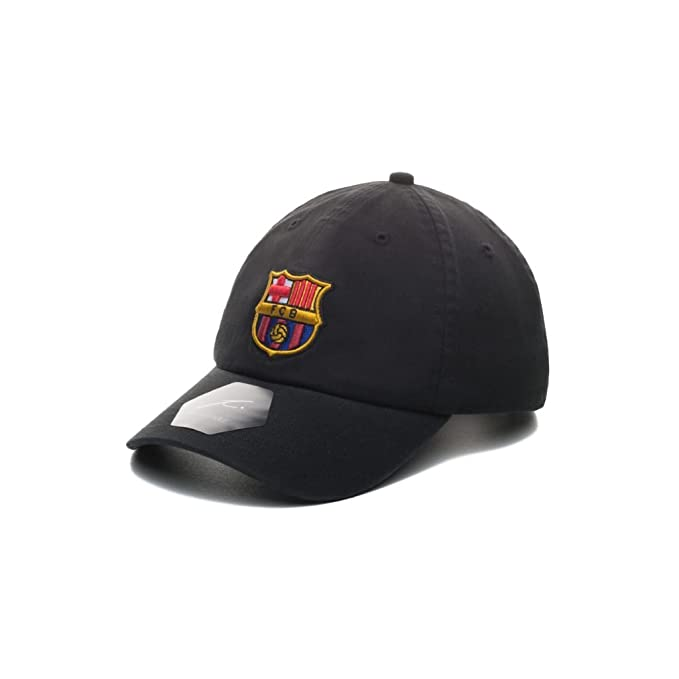 5619a557cb5 Fi Collection FC Barcelona Officially Licensed Adjustable Dad Hat at ...