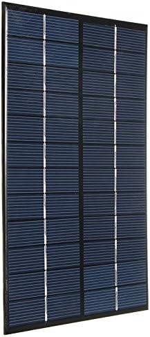 Adanse 12V 4,2 Watt Polykristallines Silizium Solar Panel Tragbare Solarzellen Ladeger?t Diy Solarmodul System 200 X 130 X 3Mm