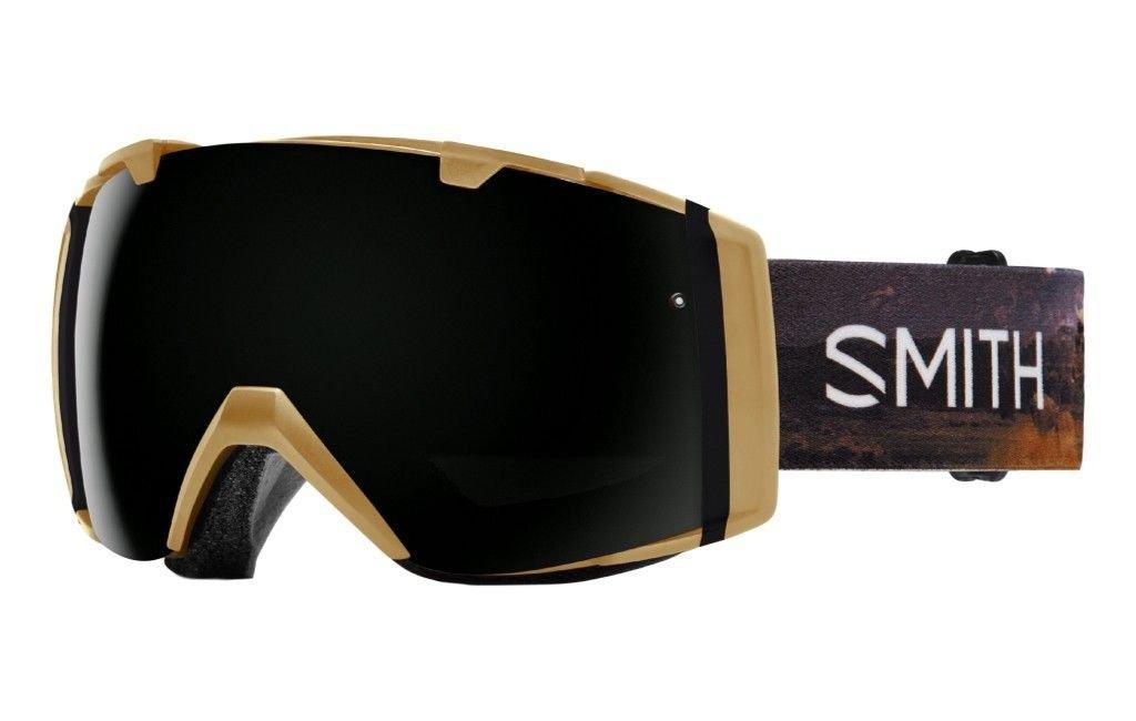 Smith Optics I/O Adult Snowmobile Goggles Prairie Buffalo / Blackout by Smith Optics