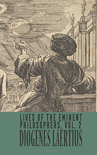 Lives of the Eminent Philosophers  Vol. 2 pdf